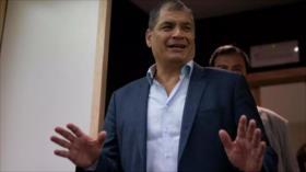 Interpol rechaza emitir alerta roja contra Rafael Correa