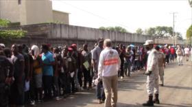 Migrantes tramitan más documentos en frontera sur de México