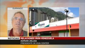 Zelaia: Megasis evidencia firmeza de Irán y Venezuela ante EEUU