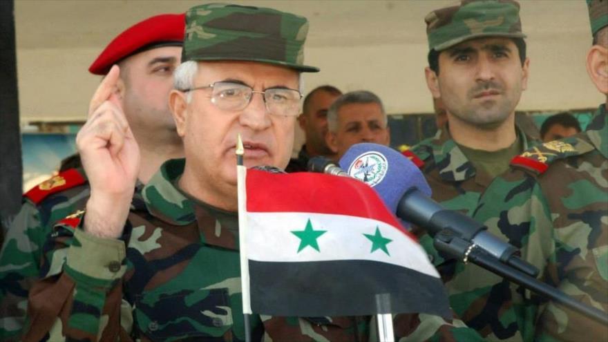 El ministro de Defensa de Siria, Ali Abdulá Ayub.