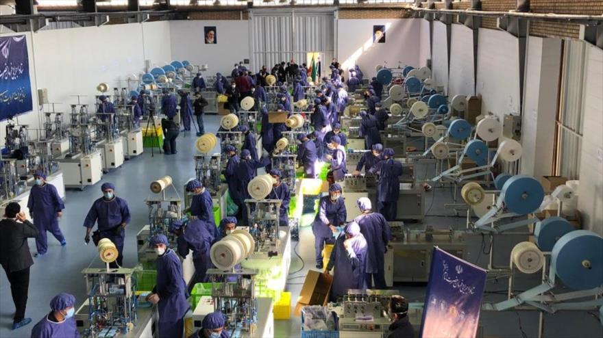 Irán,un exportador de equipos médicos en medio de sanciones de EEUU