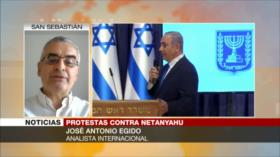 Egido: Netanyahu culpa a medios de protestas para tapar críticas
