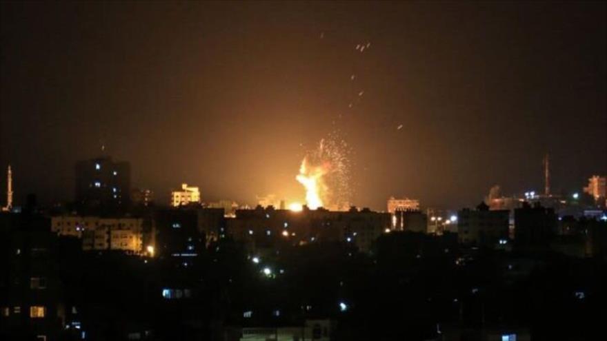 Aviones de combate de Israel atacan posiciones de HAMAS en Gaza | HISPANTV