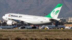 Irán asegura que perseguirá ante ONU acoso por EEUU a su avión