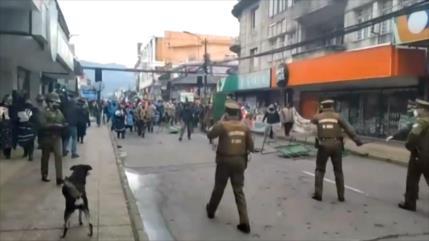 Indígenas mapuches viven jornada de violencia racial en Chile