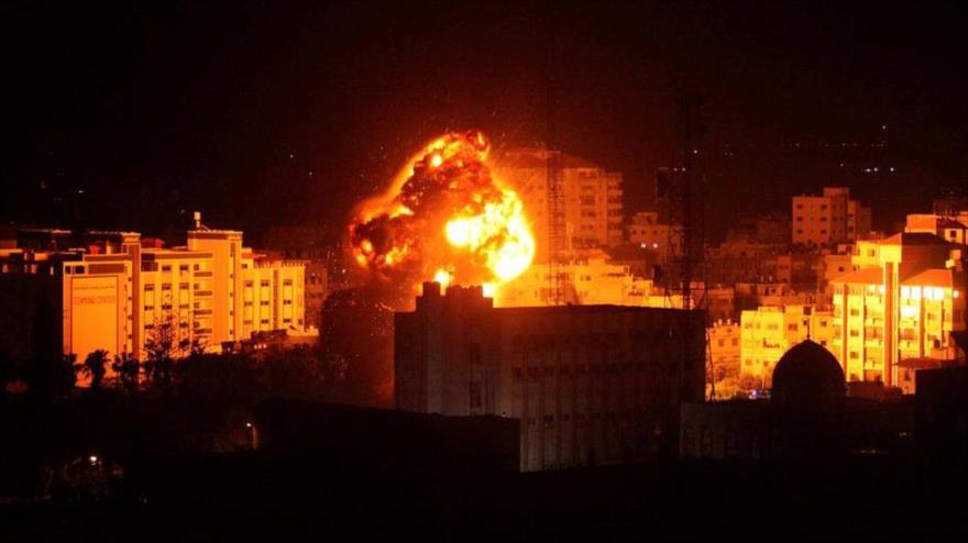 HAMAS: Israel ataca Gaza para desviar atención de su crisis interna