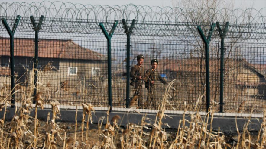 Vídeo: Corea del Norte instala valla en frontera china ante COVID-19