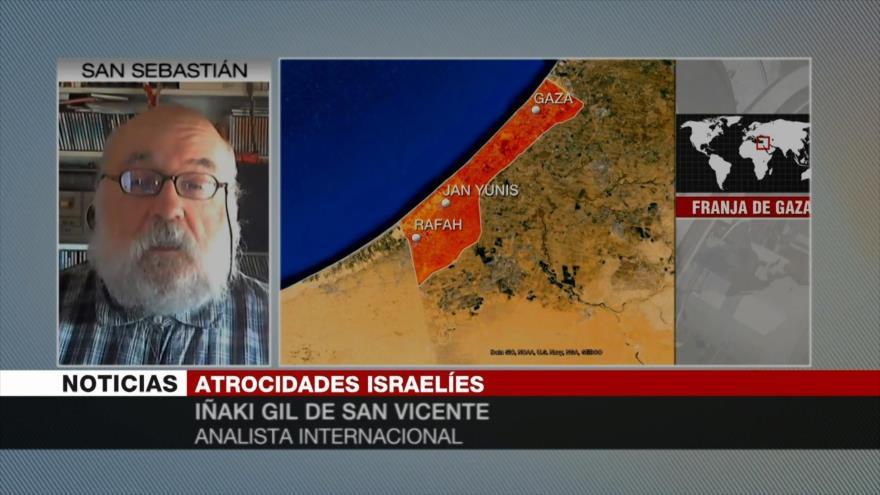 Iñaki Gil: Israel busca sofocar sus protestas con la sangre palestina
