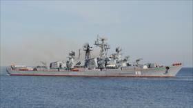 Armada rusa realiza masivas maniobras navales en el mar Báltico