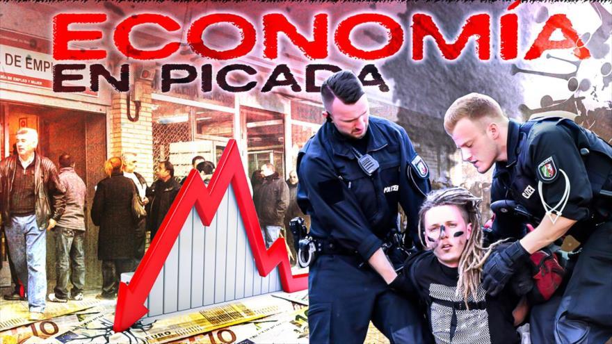 Detrás de la Razón: Economía europea cae hasta el 12 % y sube cifra de parados