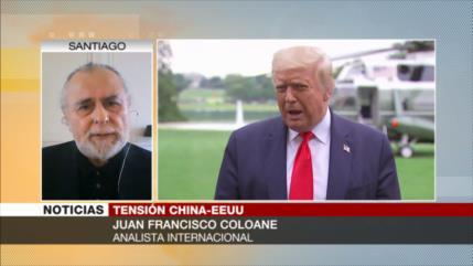 Coloane: EEUU intenta de cualquier manera detener el avance chino