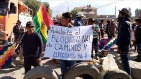 Protestan en Bolivia contra aplazamiento de elecciones presidenciales
