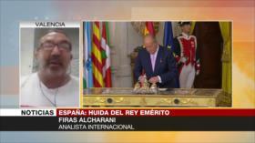 """""""Es más cómodo para Felipe VI que Juan Carlos I huya de España"""""""