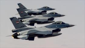 Cazas iraquíes lanzan ataques contra Daesh en Kirkuk y Samarra