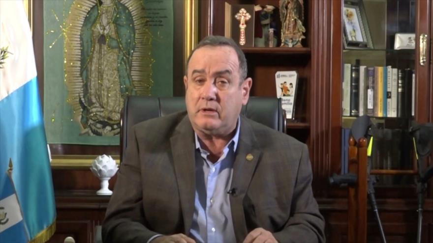 La relación entre el binomio presidencial de Guatemala se debilita