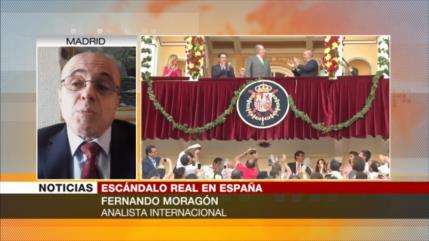 Moragón: Huida del rey emérito marca fin de monarquía española