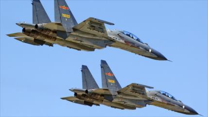 Vídeo: Cazas Su-30MKK chinos patrullan mar de la China Meridional