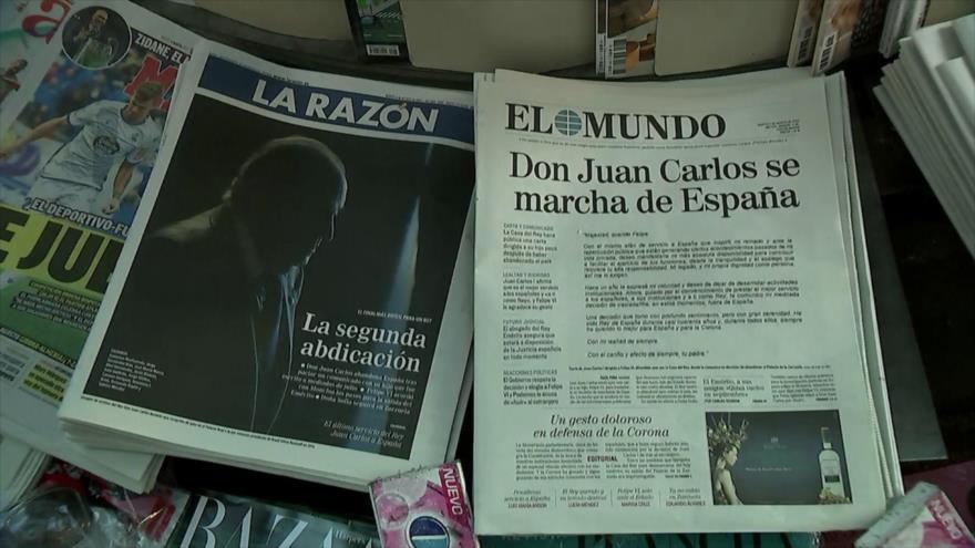 El rey emérito de España huye del país para evadir la justicia | HISPANTV