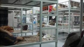 Migrantes relatan su vida en cárcel saudí: Bebemos agua del inodoro