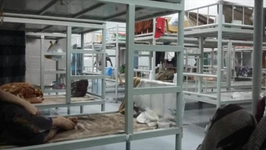 El centro de detención de Al-Shumaisi, en la ciudad de Yida, Arabia Saudí.