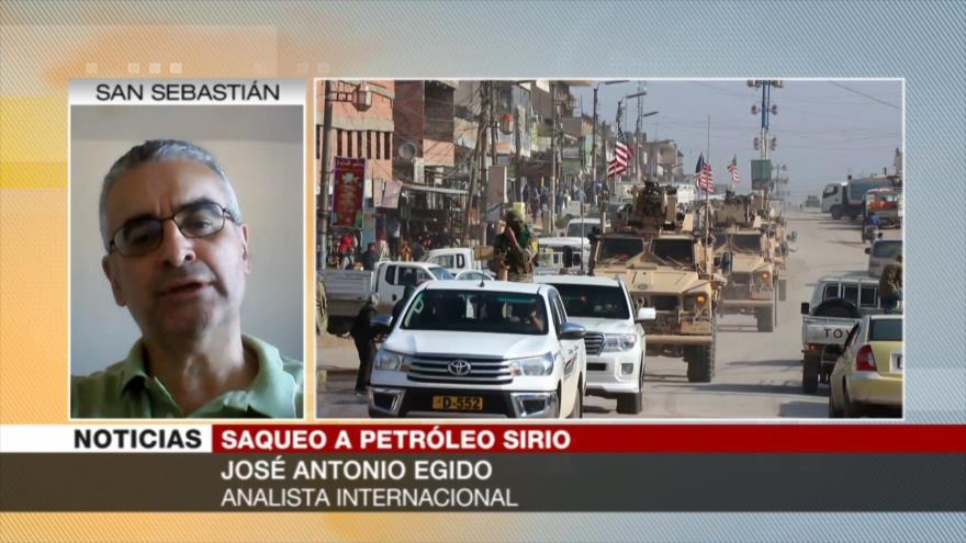 Egido: Milicia de FDS es mercenaria de EEUU para saquear Siria | HISPANTV