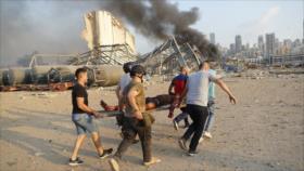 El Líbano: Responsables deben pagar por la explosión en Beirut