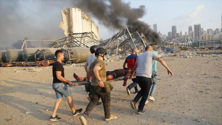 El Líbano: Responsables deben pagar por la explosión en Beirut | HISPANTV