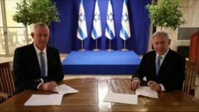 Israel vive una disputa presupuestaria entre Netanyahu y Gantz