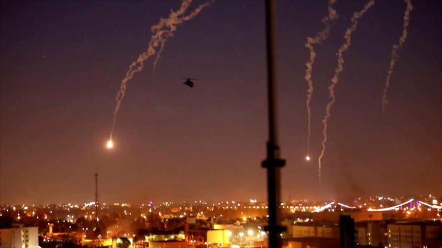 Un cohete impacta cerca de la embajada de EEUU en Bagdad