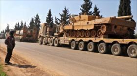 Turquía envía otro convoy militar a la provincia siria de Idlib