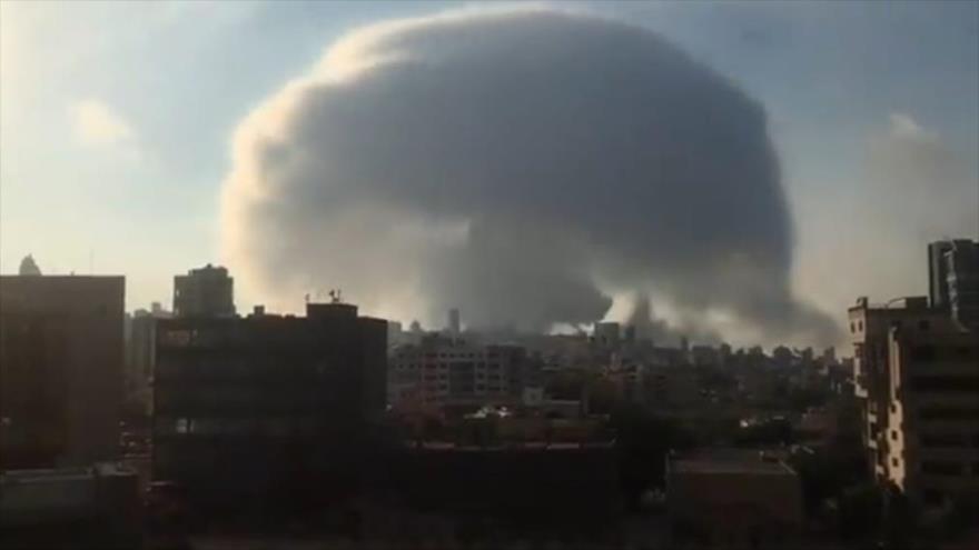 Guerra atómica en el puerto de Beirut; ¿saben por qué? | HISPANTV