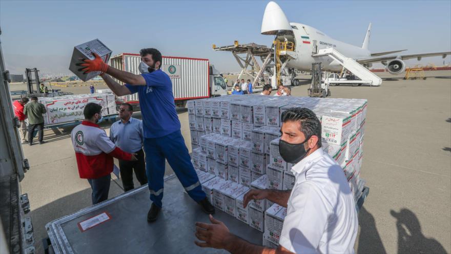 Vídeo: Irán envía su primer lote de ayuda humanitaria a El Líbano | HISPANTV
