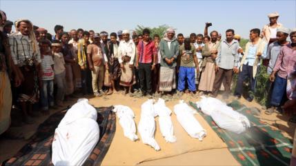 Civiles yemeníes siguen pagando costo humano de agresión saudí