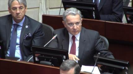 Arresto de expresidente Uribe origina un alboroto en Colombia