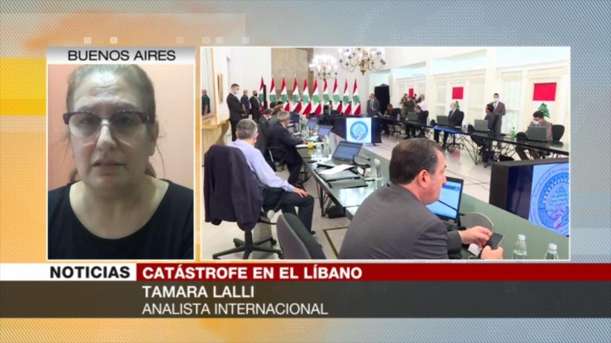 Lalli: Lo que sucedió en Beirut no es algo inocente