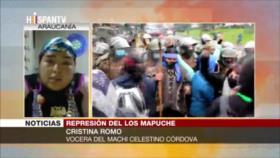 Cristina Moro: Gobierno de Piñera niega derechos de los mapuches