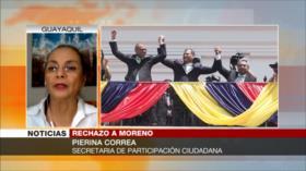 Pierina Correa: Mentiras de Moreno reducen su aprobación en Ecuador