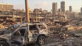 Tragedia en Beirut. Tensión China-EEUU. Conflicto mapuche - Boletín: 01:30 - 06/08/2020