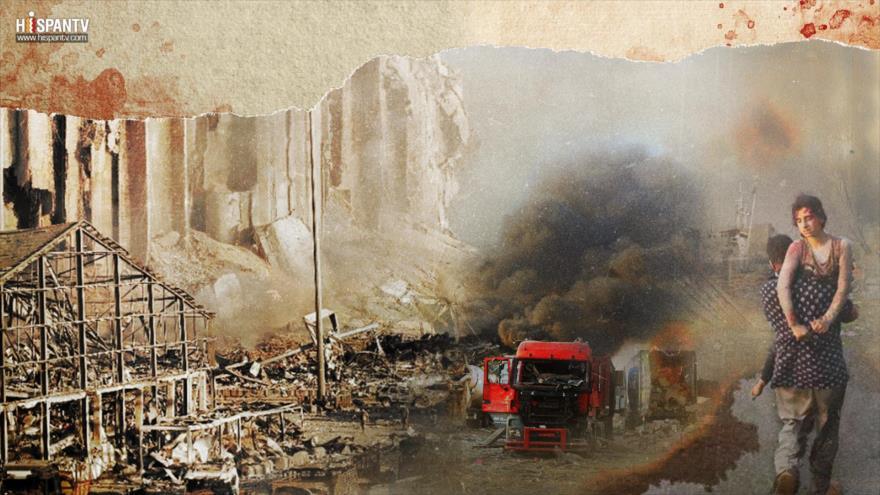 Beirut, sangre y fuego: Vi gente volando por el aire | HISPANTV