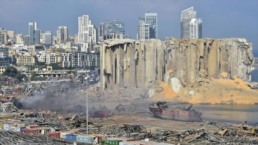 'EEUU e Israel, podrían estar detrás de la explosión en Beirut'