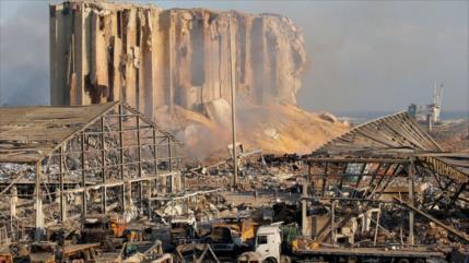 'Explosión en Beirut, muy parecida a complots de EEUU e Israel'