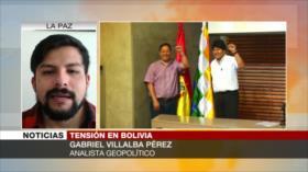 Villalba: Régimen de facto priva a bolivianos de sus derechos