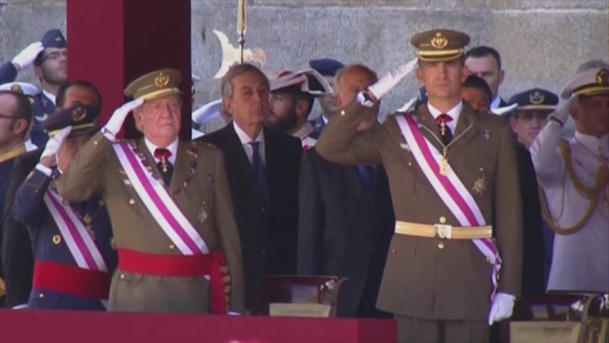 Podemos exige respuestas sobre 'huida' del rey emérito de España