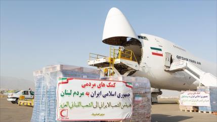 Irán sigue brindando su apoyo al pueblo libanés
