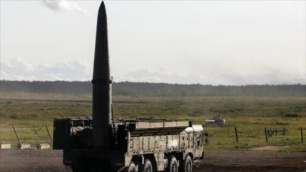 Rusia muestra el poderío del Iskander-M en ejercicios militares