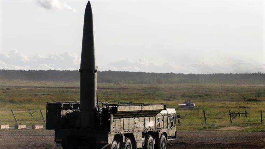 Rusia muestra el poderío del sistema Iskander-M en ejercicios militares