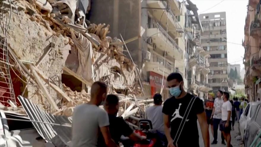Explosión en Beirut. Jamal Khashoggi. Trump vs. Canadá - Boletín: 01:30 - 07/08/2020