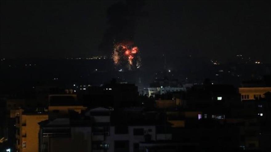 Vídeo: Israel vuelve a atacar varios puntos en la Franja de Gaza