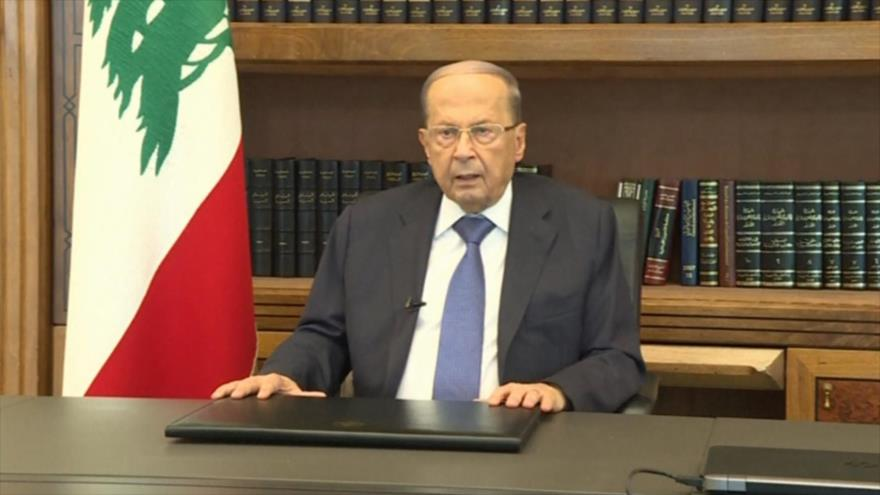 Aoun asegura: Ninguna potencia colonial puede regresar a El Líbano |  HISPANTV