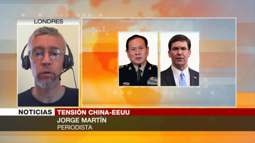 Martín: EEUU atemoriza y amenaza para llegar a una negociación